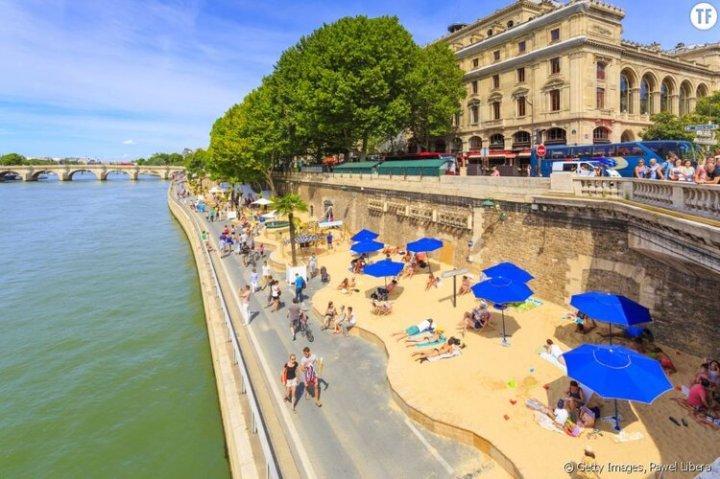 Paris Plage : une série d'interventions légères pour dépayser les citadins