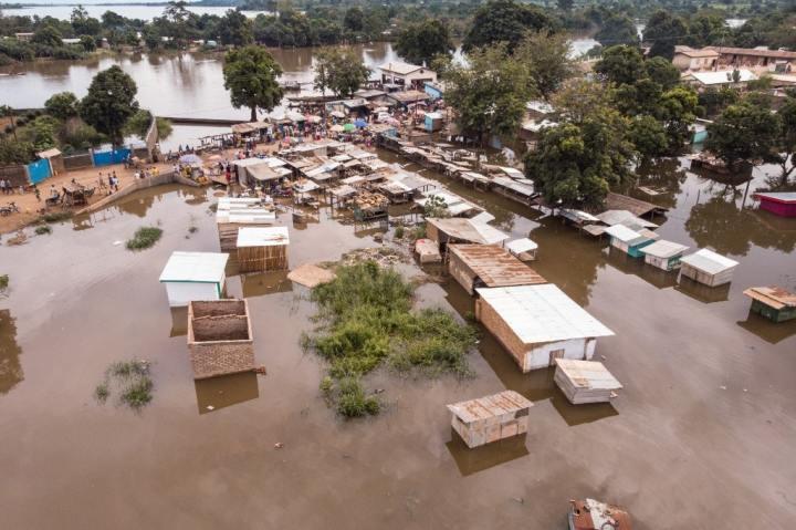 Inondation à Bangui